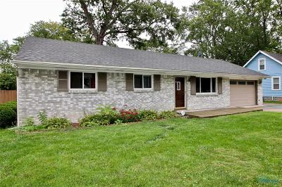 Maumee Single Family Home For Sale: 4363 Margrete Drive