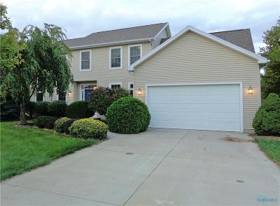 Perrysburg Single Family Home Contingent: 2302 Goldenrod Lane
