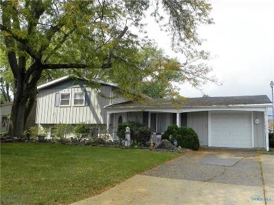 Sylvania OH Single Family Home For Sale: $165,900