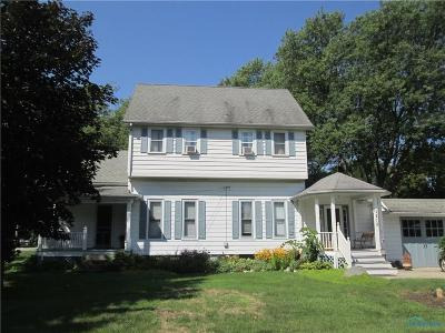 Maumee Single Family Home For Sale: 1215 River Road
