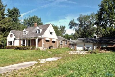 Toledo Single Family Home For Sale: 408 W State Line Road