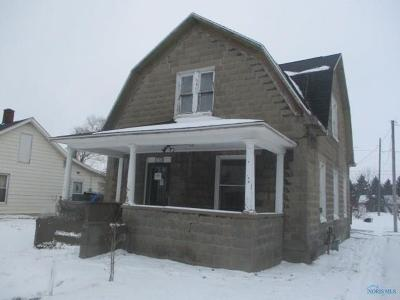 Clay Center OH Single Family Home For Sale: $27,900