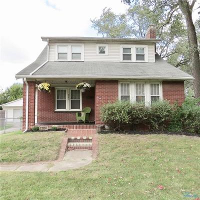 Toledo Single Family Home For Sale: 3834 W Alexis Road