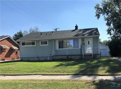 Toledo Single Family Home For Sale: 2903 Claredale Road