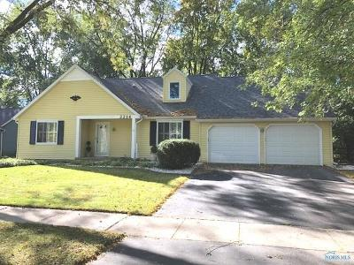 Toledo OH Single Family Home For Sale: $185,500