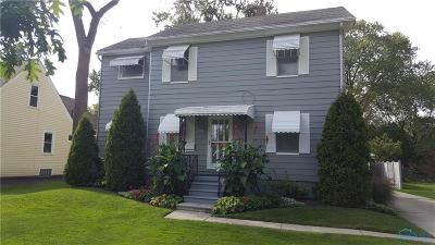 Maumee Single Family Home Contingent: 721 Johnson Street