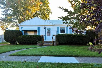 Maumee Single Family Home For Sale: 1156 Shelly Avenue