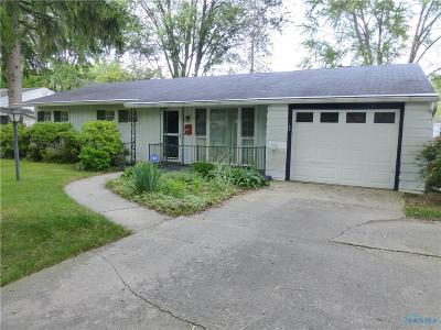 Toledo OH Single Family Home For Sale: $112,500