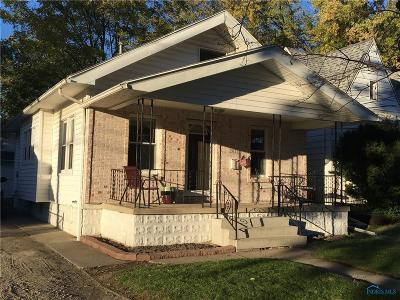 Toledo OH Single Family Home For Sale: $58,499