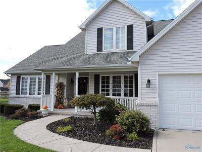 Maumee Single Family Home Contingent: 4160 Ranchers Circle