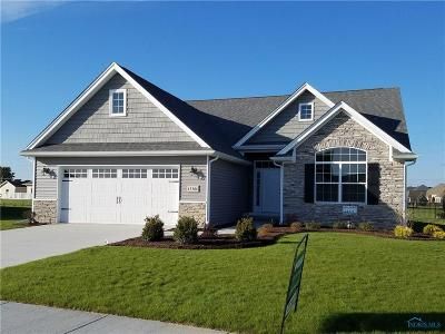 Perrysburg Condo/Townhouse For Sale: 15386 Sunset Maple Drive #Lot 13