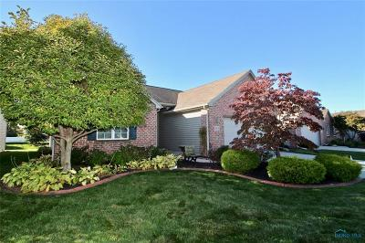 Perrysburg Condo/Townhouse For Sale: 10151 S Shannon Hills Drive