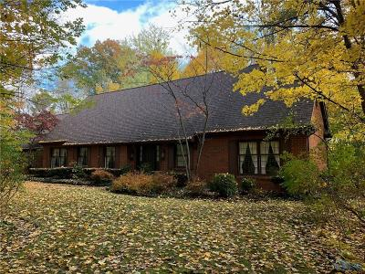 Perrysburg Single Family Home For Sale: 25964 W River Road