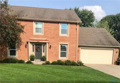 Maumee Single Family Home For Sale: 2253 Heatherview Drive