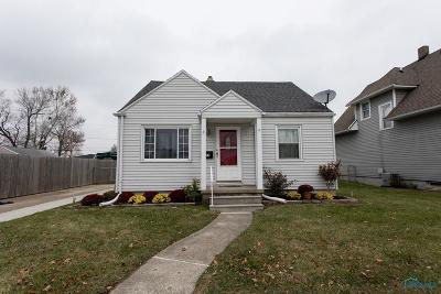 Toledo OH Single Family Home For Sale: $114,500