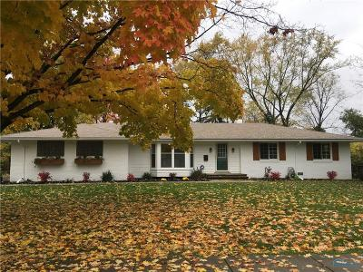 Perrysburg Single Family Home Contingent: 553 Willow Lane