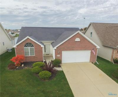 Perrysburg Single Family Home For Sale: 10792 S Lakes Drive