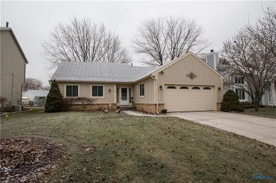 Maumee Single Family Home For Sale: 626 Centerfield Drive