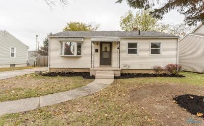 Maumee Single Family Home For Sale: 1138 Holgate Avenue