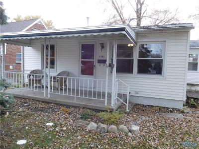 Maumee Single Family Home Contingent: 1361 Hugo Street