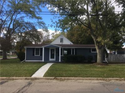 Maumee Single Family Home For Sale: 1102 Richland Street