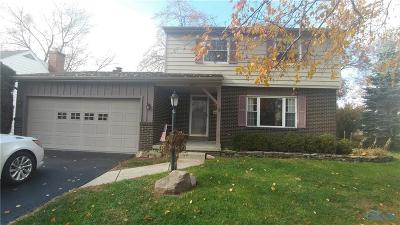 Sylvania OH Single Family Home For Sale: $159,900