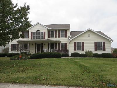 Perrysburg Single Family Home For Sale: 716 Prairie Rose Drive