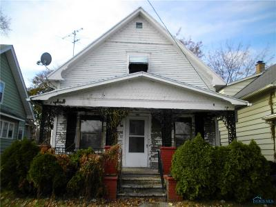 Toledo OH Single Family Home For Sale: $16,000