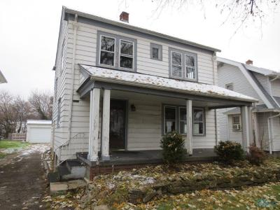 Toledo OH Single Family Home For Sale: $20,000