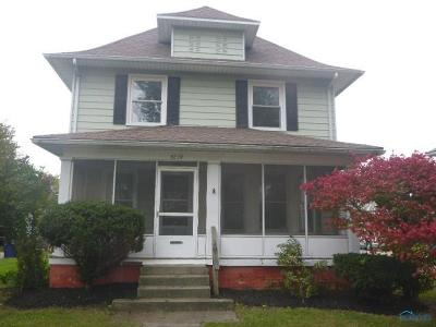Toledo OH Single Family Home For Sale: $32,500