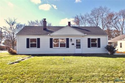 Maumee Single Family Home For Sale: 1101 Scott Street