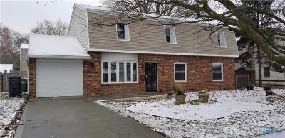 Maumee Single Family Home For Sale: 1404 Eastfield Drive