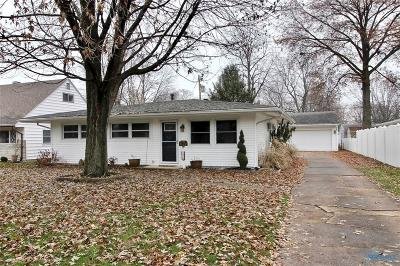 Perrysburg Single Family Home For Sale: 1019 Louisiana Avenue