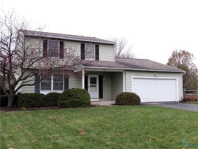 Perrysburg OH Single Family Home Sold: $184,900
