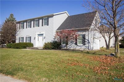 Perrysburg Single Family Home For Sale: 1891 Hamilton Drive