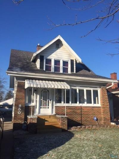 Toledo OH Single Family Home For Sale: $64,899
