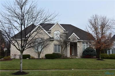 Maumee Single Family Home Contingent: 7936 Clover Creek Road