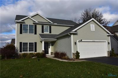 Perrysburg Single Family Home For Sale: 26562 Basswood Drive