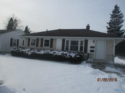 Toledo Single Family Home For Sale: 5107 Sheila Drive