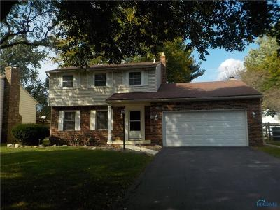 Toledo Single Family Home For Sale: 5020 Chatsworth Road