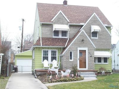 Toledo Single Family Home For Sale: 3836 Garrison Road