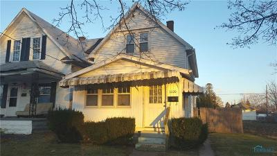 Toledo OH Single Family Home For Sale: $22,900