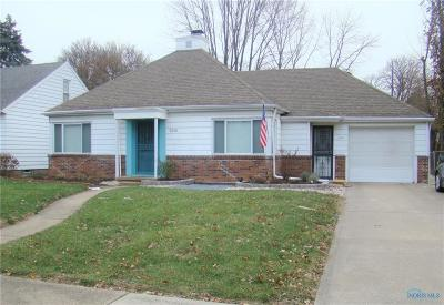Toledo OH Single Family Home For Sale: $122,500