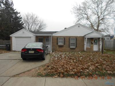 Toledo OH Single Family Home For Sale: $47,900