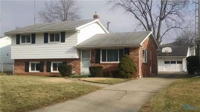 Toledo Single Family Home For Sale: 5132 Oldham Drive