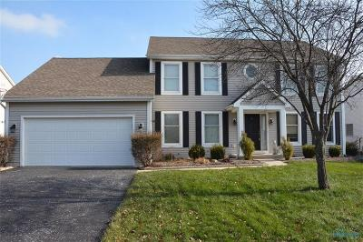 Maumee Single Family Home For Sale: 4165 Ranchers Circle