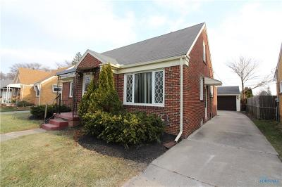 Toledo OH Single Family Home For Sale: $139,900