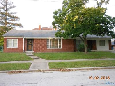 Toledo OH Single Family Home For Sale: $19,800