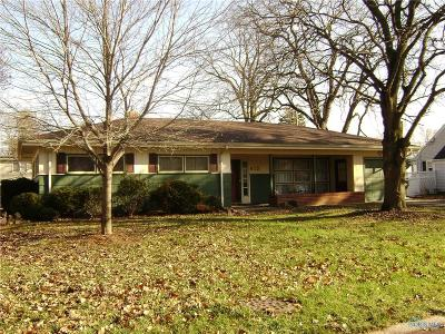 Maumee Single Family Home Contingent: 812 Hubbel Street