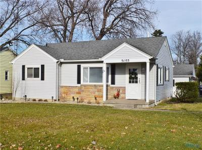 Ottawa Hills, Monclova, Oregon, Rossford, Swanton, Berkey, Metamora, Lyons, Whitehouse, Waterville Single Family Home For Sale: 5055 Bayshore Road